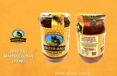 500gr Anzer Honey