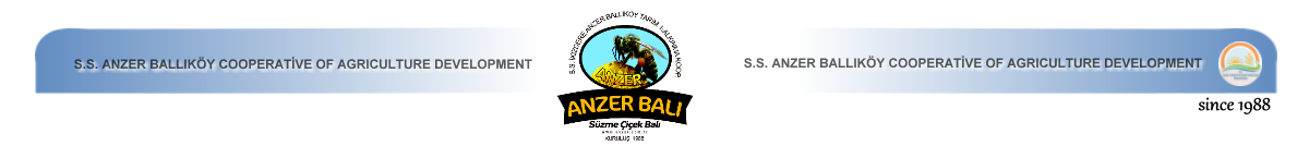 Anzer Honey Market - .S.S. Anzer Ballıköy Cooperative of Agriculture Development Corporate Web Page